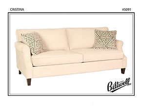 Cristina Sofa by Biltwell