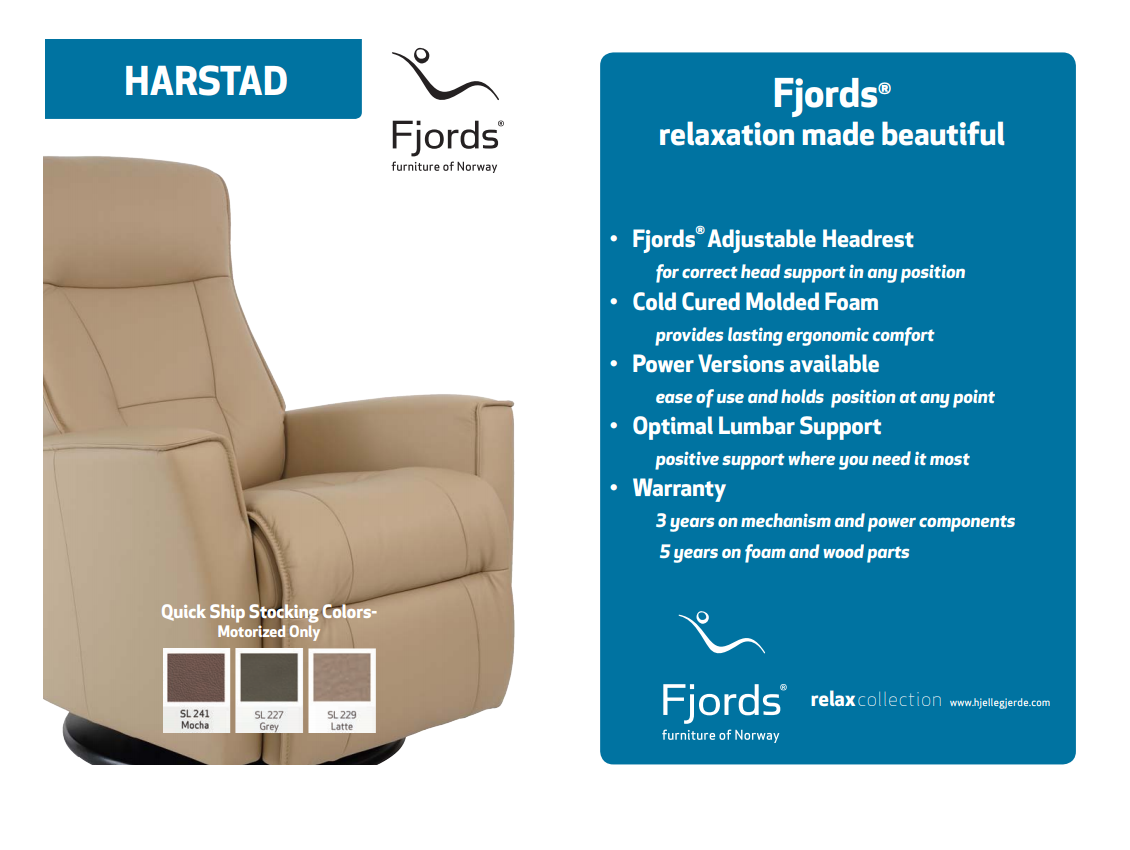 Harstad quick ship options