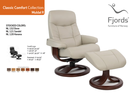 Muldal Ergo Chair and Ottoman