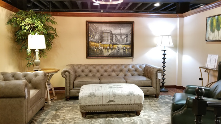 Remington Sofa and Arm Chair