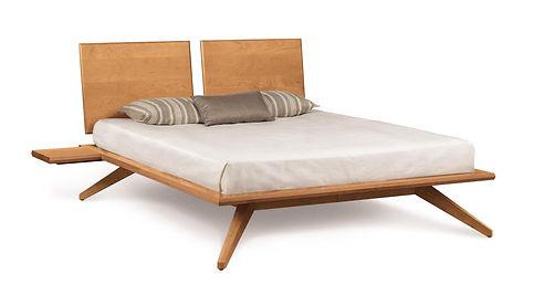 Astrid Cherry Platform Bed