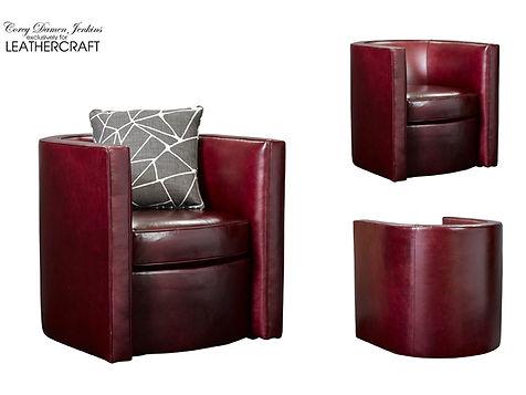 Dyana Swivel Barrell Chair