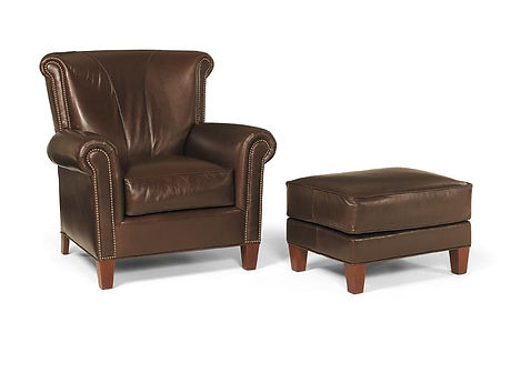 Gillham Arm Chair & Ottoman