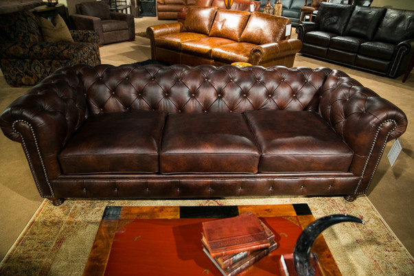 Remington Hand Tufted Sofa
