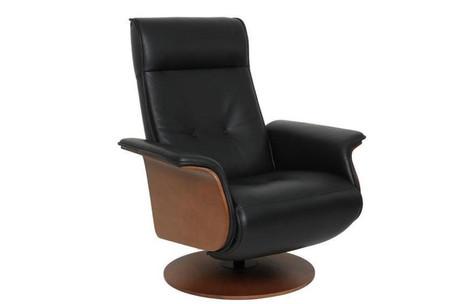Hans in AL510 Black Leather