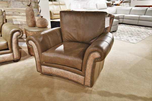 Kaymus Arm Chair With Custom Detailing