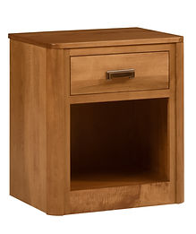 MFG222NS 1 Dr Nightstand Brown Maple S14