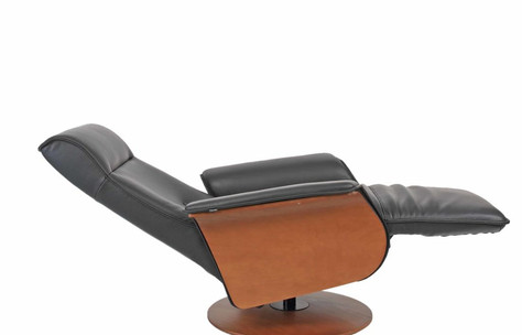 Hans reclined chair by Fjords