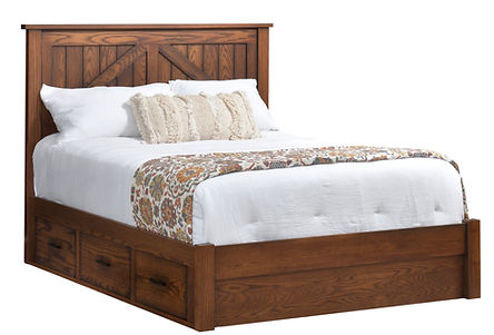 Millcraft Rustic Mountain Lodge Bed