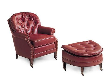 Kirkland tufted arm chair set