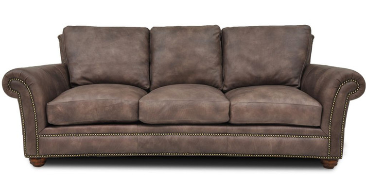 Kaymus Leather Sofa
