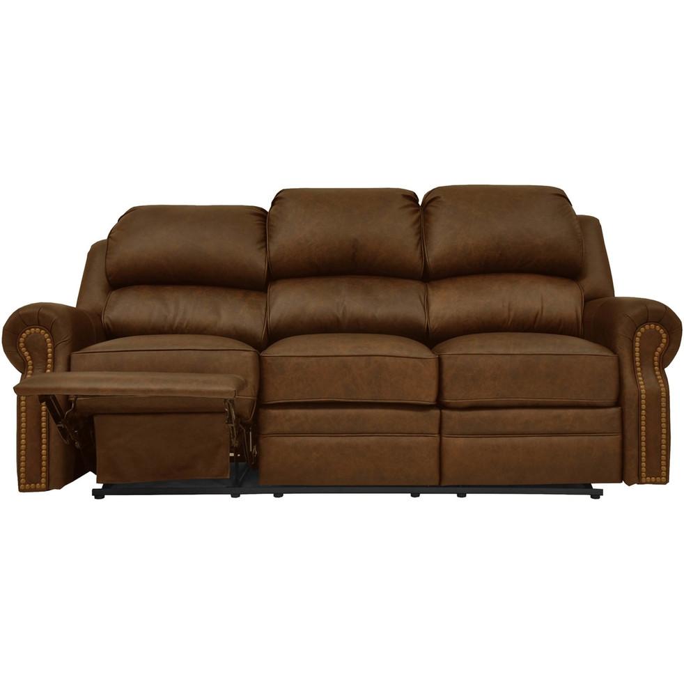 San Juan Leather Reclining Sofa