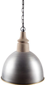Industrial light fixture by Mercana