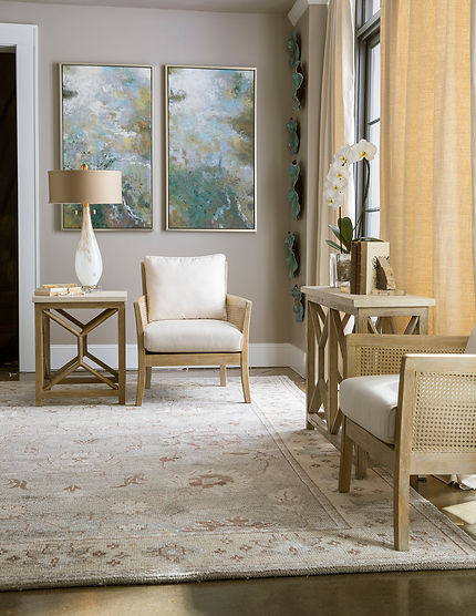 Uttermost accent furniture room view