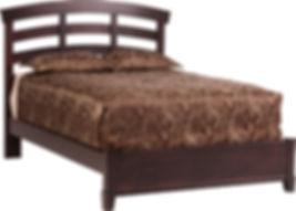 Amish Bed Greenwich Slat
