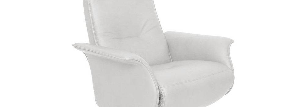 Finn ergo chair in SL228 Stark White