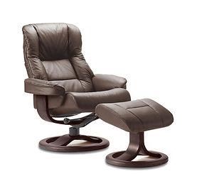 Loen ergonomic recliner by Fjords