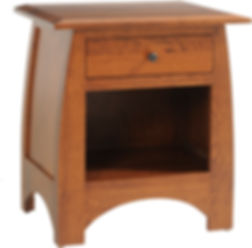 Bordeaux Aspen Nightstand