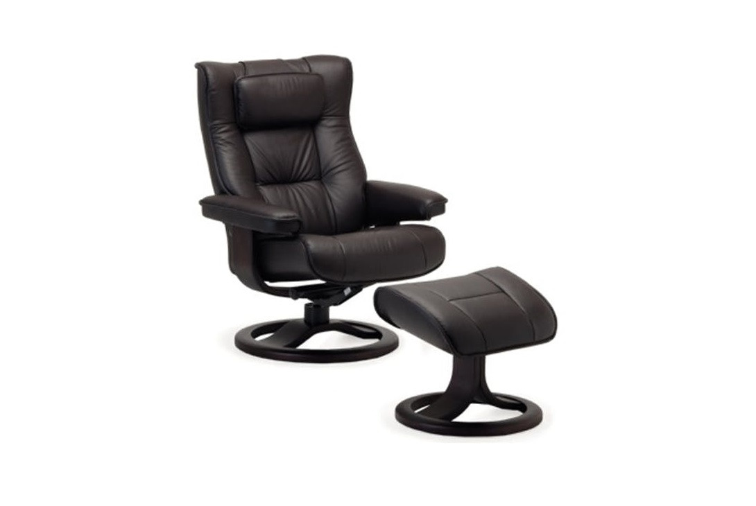 Regent ergo recliner chair & ottoman