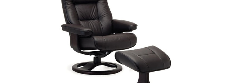 Regent ergo recliner chair & ottoman