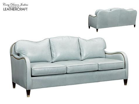 Hera Custom Leather Sofa