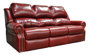 San Clemente Reclining Leather Sofa