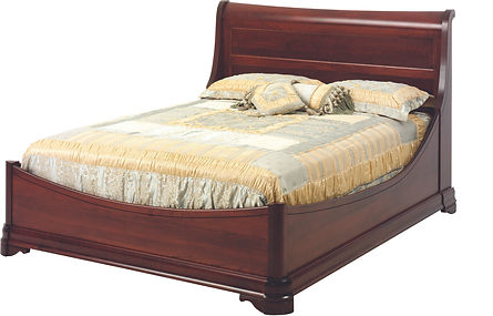 Solid Cherry Louis Phillipe Bed