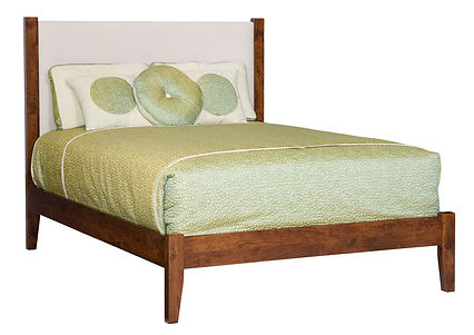 Upholstered Amish Bed Tucson