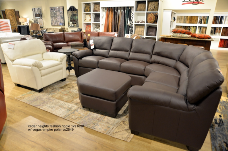 Cedar Heights Curved Sectional