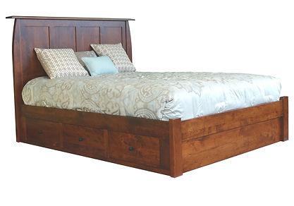 Bordeaux Storage Bed Millcraft