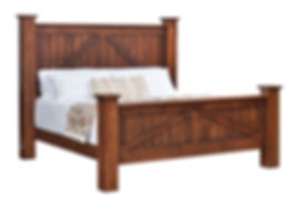 Mountain Lodge Panel Bed