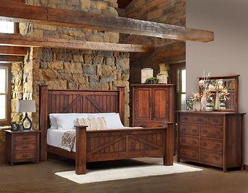 Mountain Lodge 001 king-cherry-bedroom.j