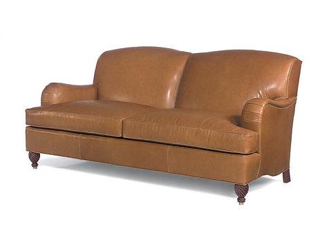Pearce Custom Leather Sofa