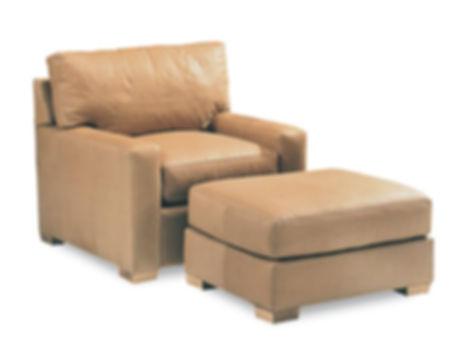 Manhattan Arm Chair and Ottoman