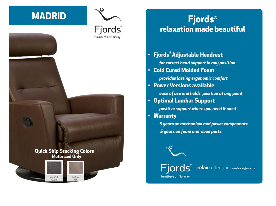 Madrid Quick Ship Options