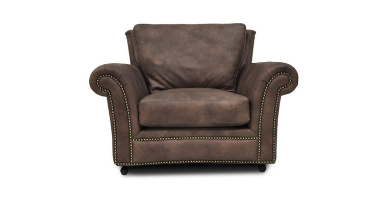 Kaymus Leather Arm Chair