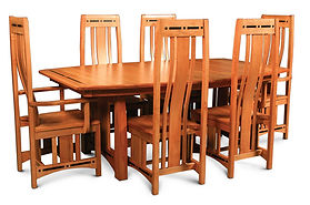 Aspen Dining Set in Cherry