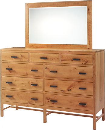 MF1066DR MF1052MR High Dresser w Mirror.