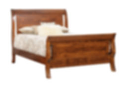 Tucson Amish Sleigh Bed Frame