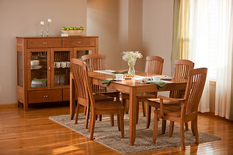 Justine maple dining set