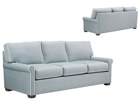 Tybee rolled arm sofa