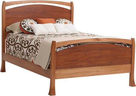 Amish Custom Panel Bed Oasis
