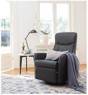 Oslo leathr ergo chair