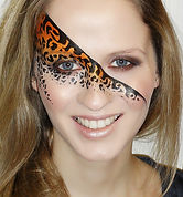 Leopard Print Face Paint