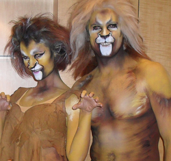 Character Body Paint