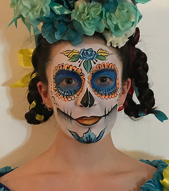 Day of Dead Face Panting