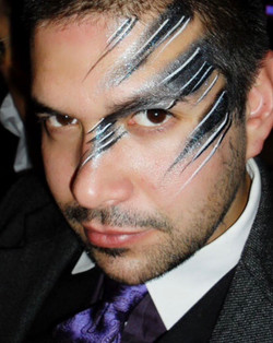 Adult Face Painting for Men