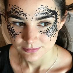 Lace Face Paint