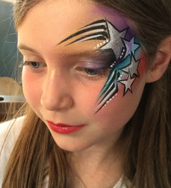 Star Face Painting
