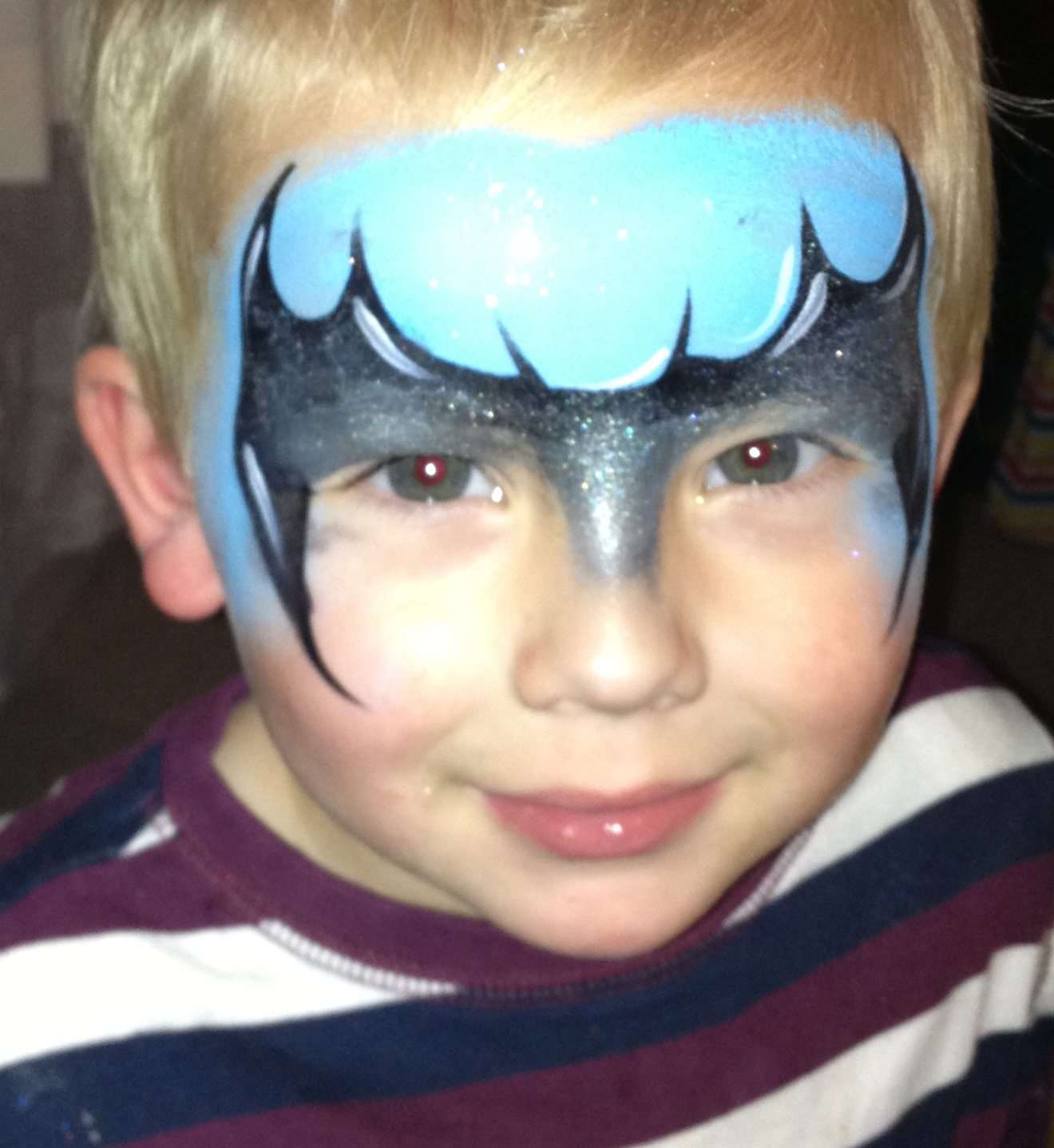 Batman Face Paint